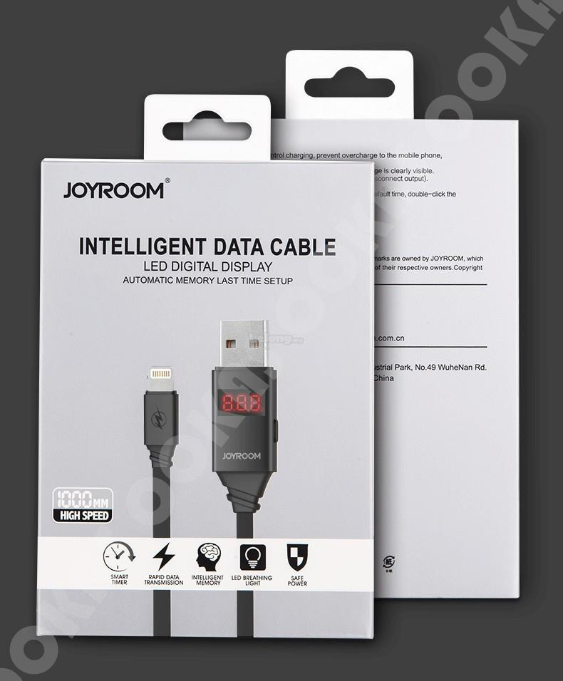 Joyroom Intelligent USB Cable Fast Charging Safe Sync Timer ZS200