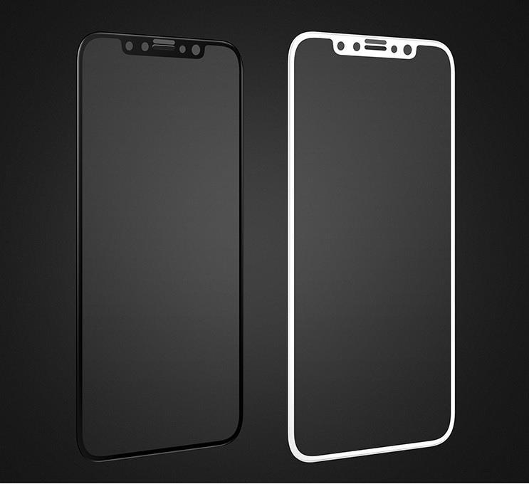 uk availability be2b2 89345 Joyroom iPhone X Full Screen Privacy Anti-peeping Tempered Glass