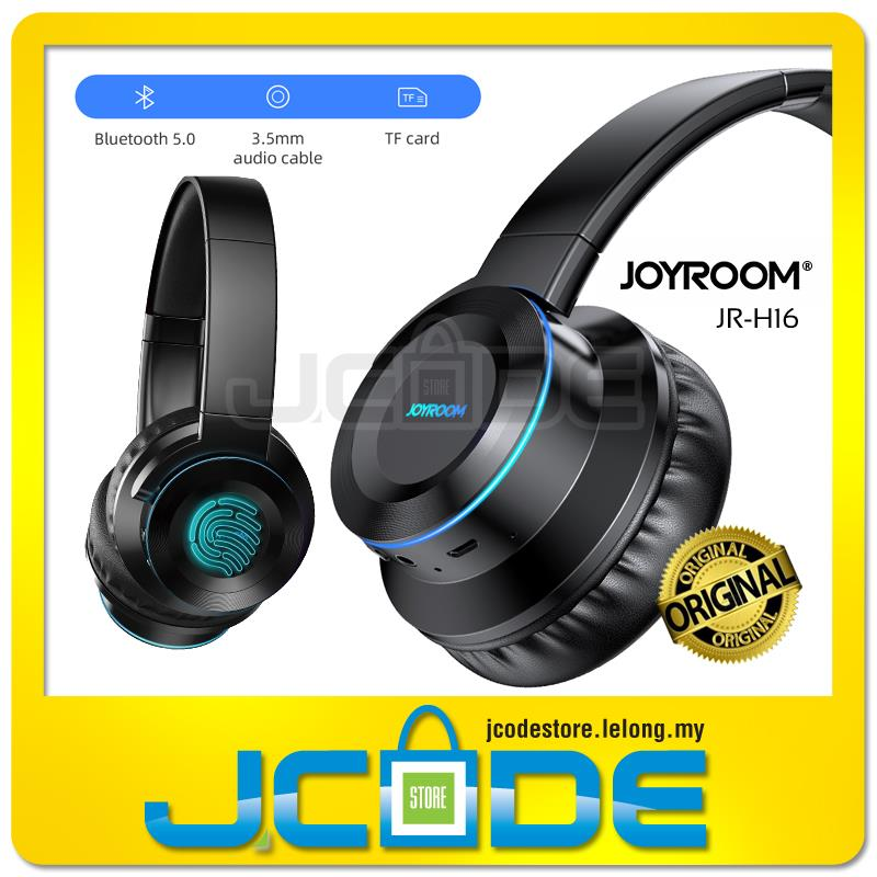 JOYROOM JR-H16 Bluetooth 5.0 Wireless Earphones Headset Support Wired