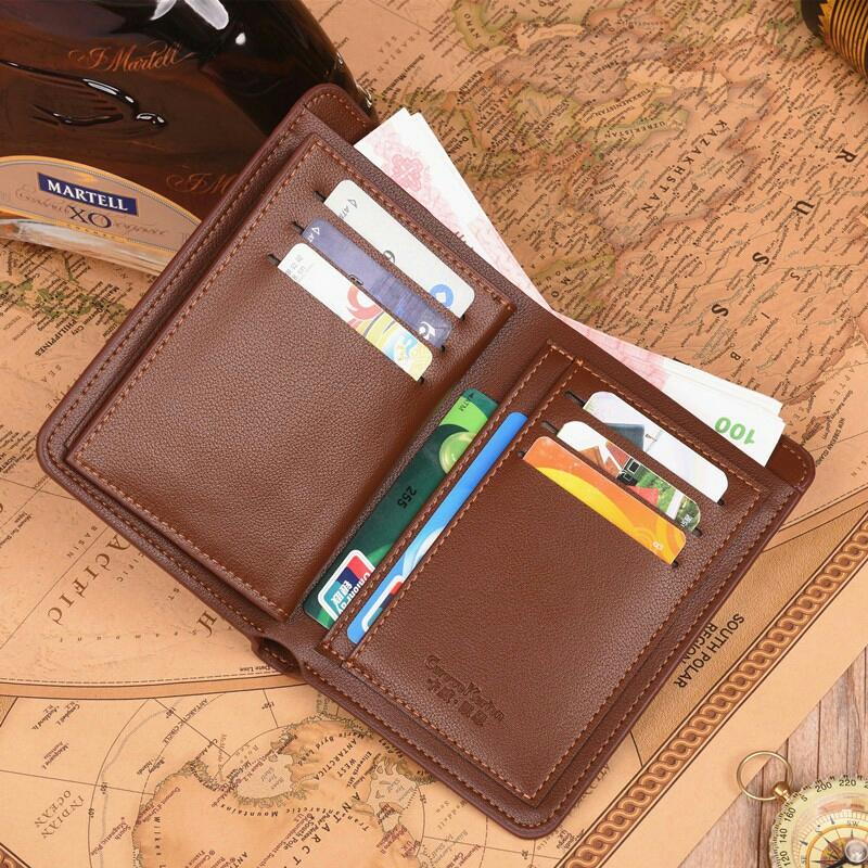 482a690f2 JS Curewe Kerien Men Long Big Space Zipper Card Holder Men Wallet