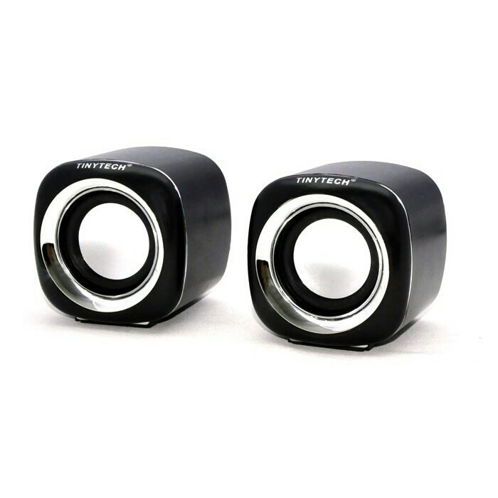 JS USB 2.0 MINI MULTIMEDIA STEREO SPEAKER W/ VOLUME CONTROL
