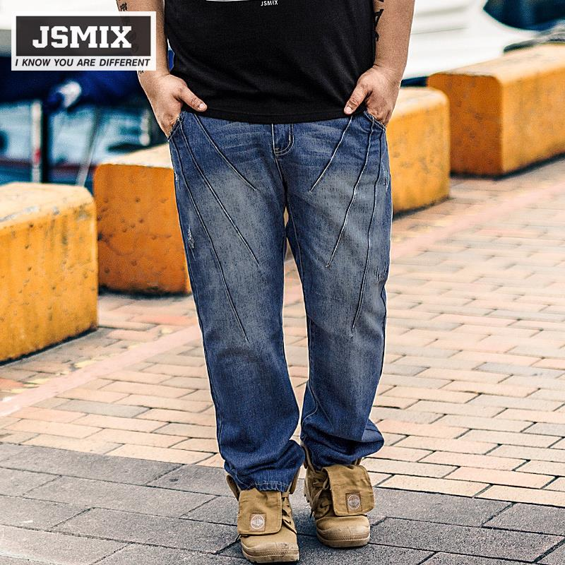 6879c9c241227 JSMIX Men s Plus Size (36 ~48 ) Big Large Size Washed Jeans. ‹ ›