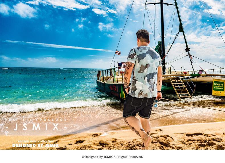 103550b94cea JSMIX Men s Plus Size (XL~7XL) Camouflage Summer T Shirt 82JT0845