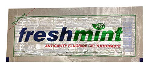 ...From JSP 500 Individual Packets of Freshmint® 0.28 oz. Single use Clear Ge