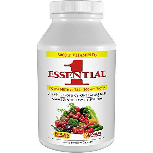 ...From JSP Andrew Lessman Essential-1 Multivitamin 180 Small Capsules 3000 IU