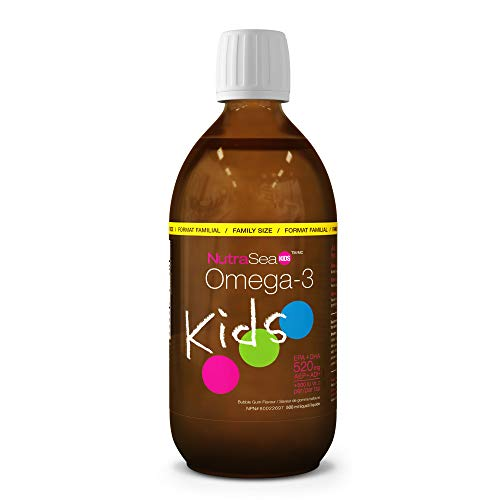 ...From JSP NutraSea Kids Omega 3 Fish Oil Supplement, Liquid Burpless Fish Oi