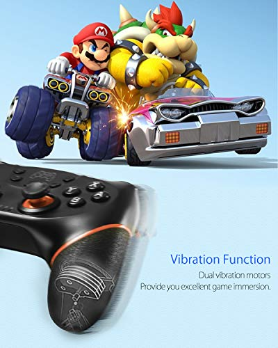 ...From JSP Switch Controller, Wireless Pro Controller for Nintendo Switch Rem