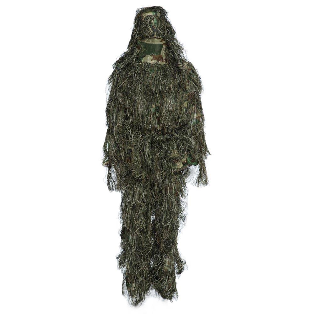 JUNGLE CAMOUFLAGE Camouflage Jungle Hunting Ghillie Suit Set Woodland ..