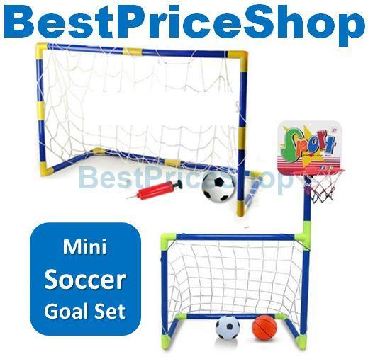 f6b2015e95352e Junior Mini Soccer Goal Sets Footbal (end 6/23/2020 2:47 PM)