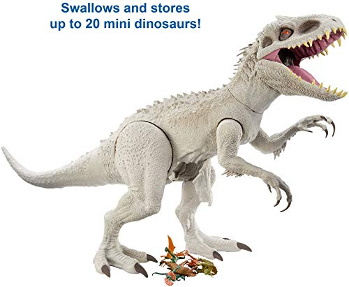 Jurassic World Camp Cretaceous Isla Nublar Super Colossal Indominus Rex 18-