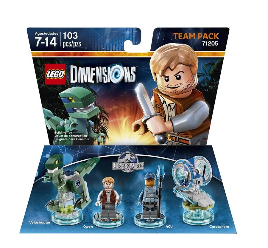 Jurassic World Team Pack - LEGO Dimensions