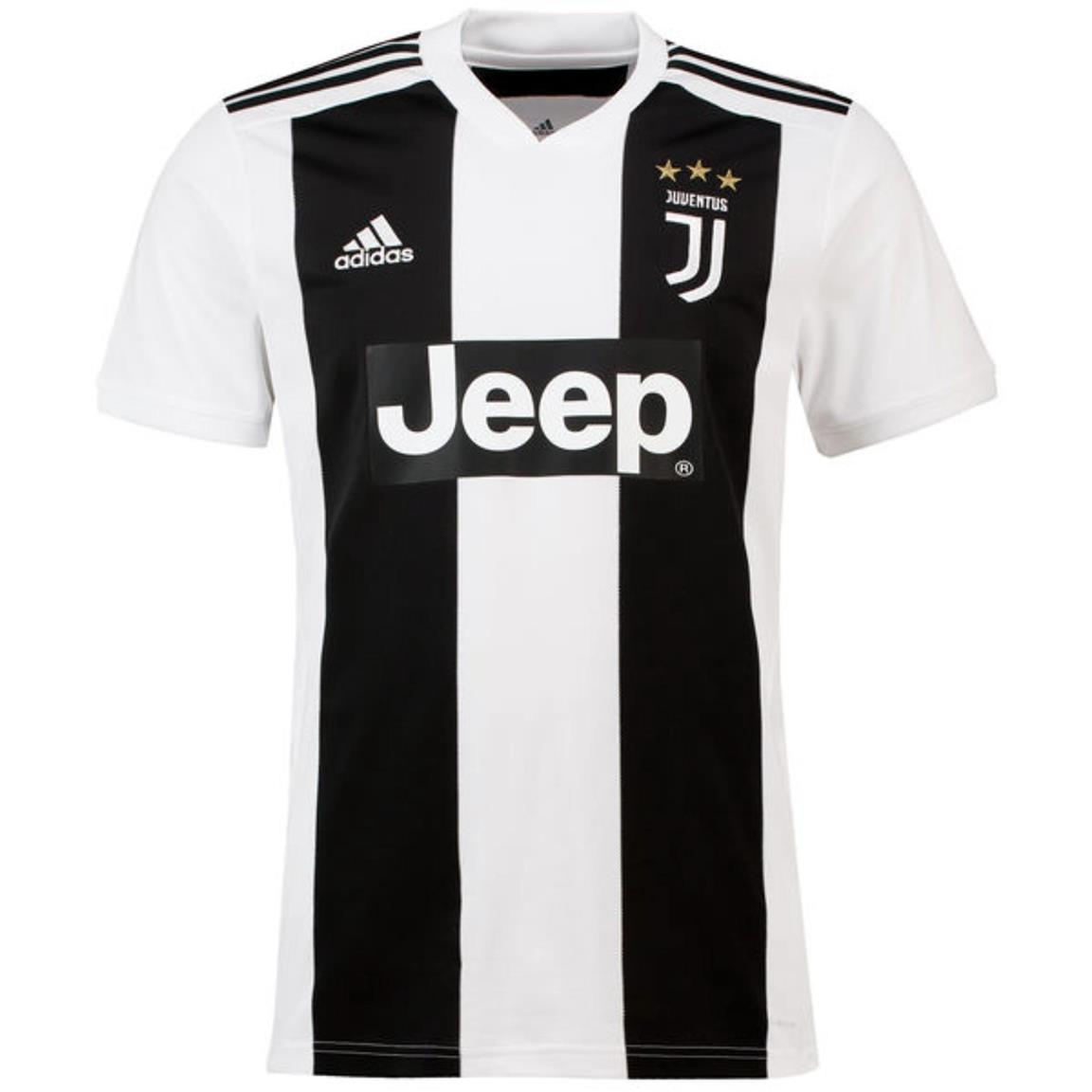 Juventus Football Jersey Home Kit 2018-2019 Adidas 2018 19. ‹ › 5e6279be9