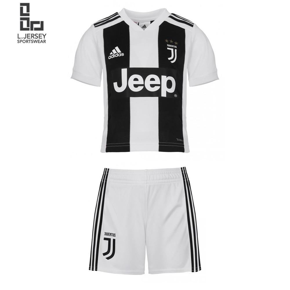 timeless design 53bb5 8df39 Juventus Kid Home 2018/19 Fans Jersey