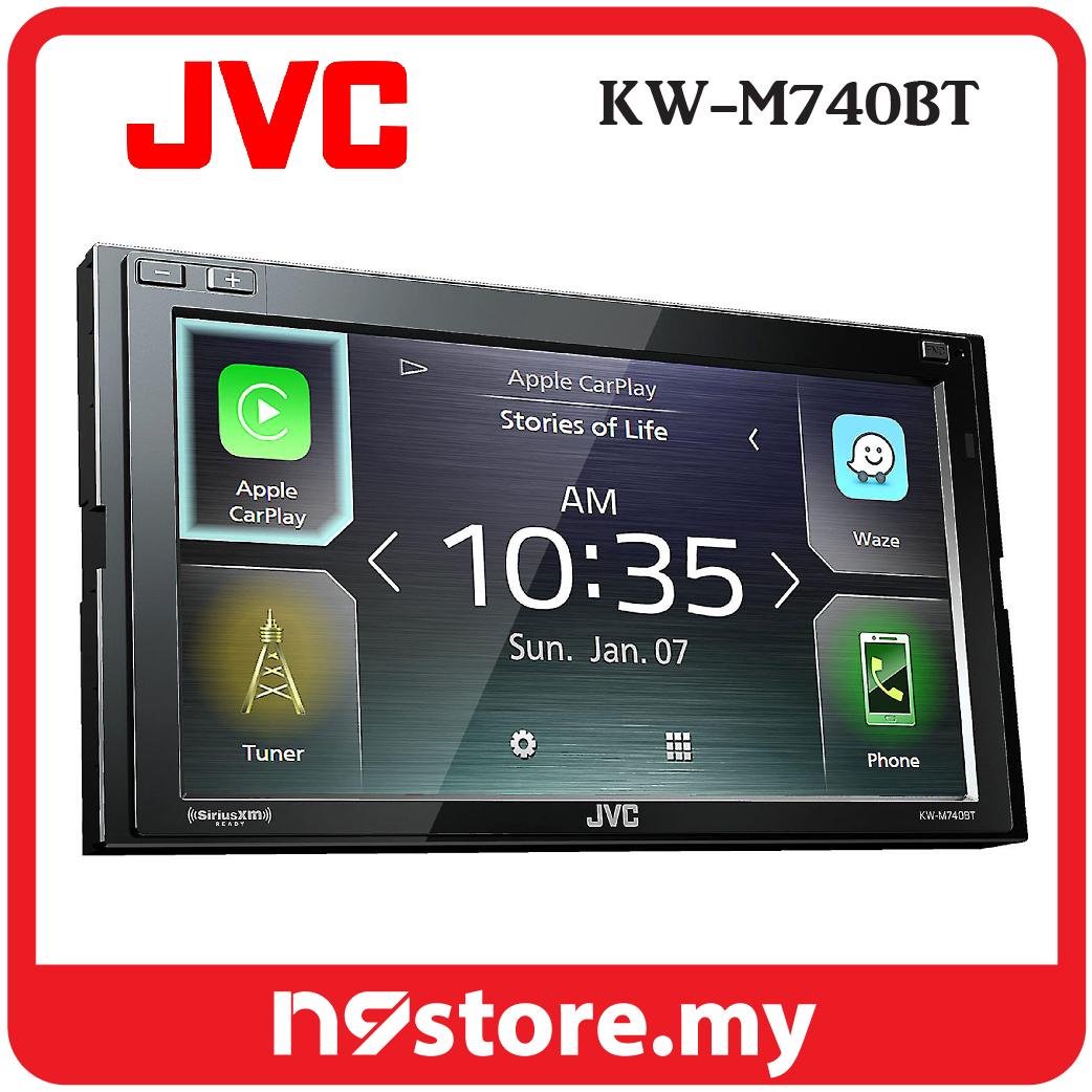 "JVC KW-M740BT 6 8"" Weblink Android Auto Apple Carplay Waze Car Stereo"