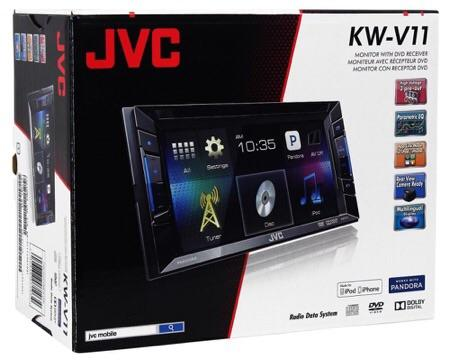 JVC KW-V11 car double din player