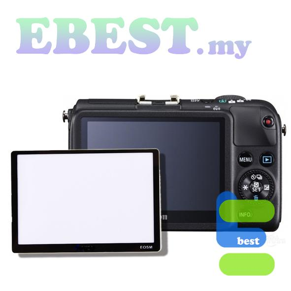 JYC Canon EOS M PRO Optical Glass LCD Screen Protector