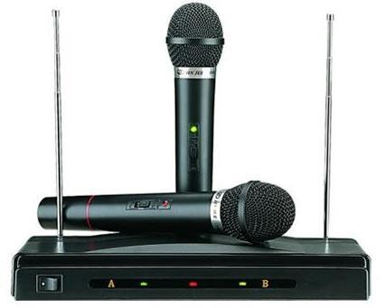 K&K Wireless Microphone & Receiver (AT-306)