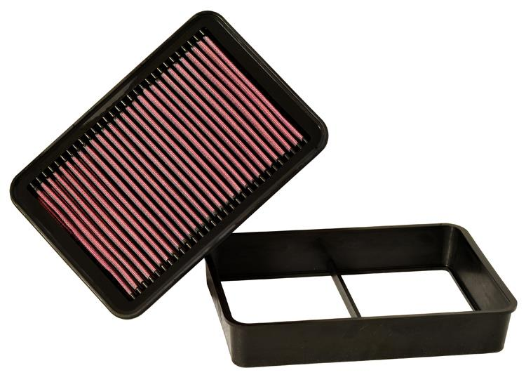 K&N HIGH FLOW DROP IN AIR FILTER MITSUBISHI LANCER 2.0 GT CY/EVO X 07+