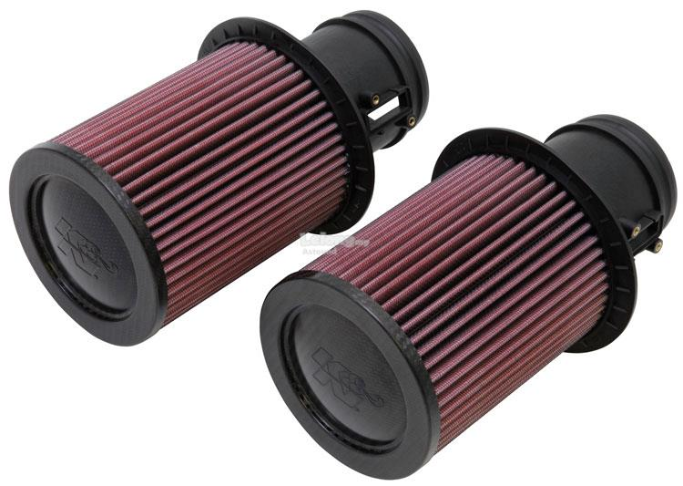 K&N Performance Air Filter AUDI R8 5.2L V10  09-12 (2 PER BOX)