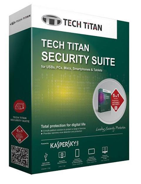 K@SPERSKY INTERNET SECURITY 2017 3+1 USER @ TECH TITAN SECURITY SUITE