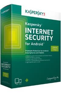 K@SPERSKY INTERNET SECURITY FOR ANDROID (1 YEAR 1 USER) CD KEY ONLY