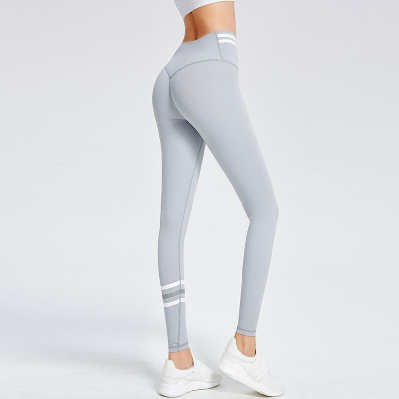 [K639] High Waist Stretchy Tight-Fitting Pants