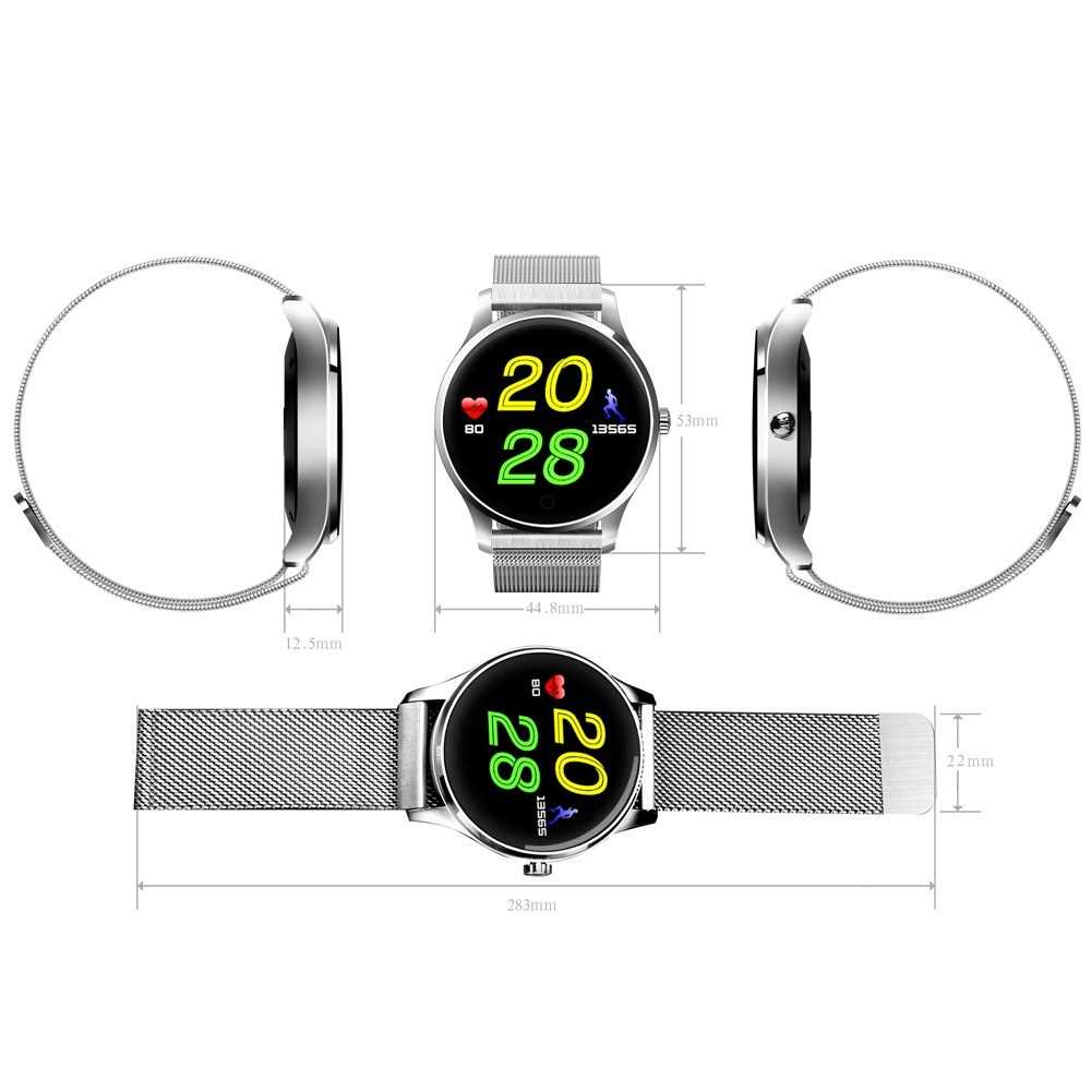 K88 Smart Watch Heart Rate Sleep Monitor Reminder Anti-lost Remote