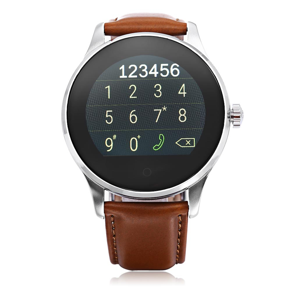 K88H BLUETOOTH 4.0 SMART WATCH (BROWN)