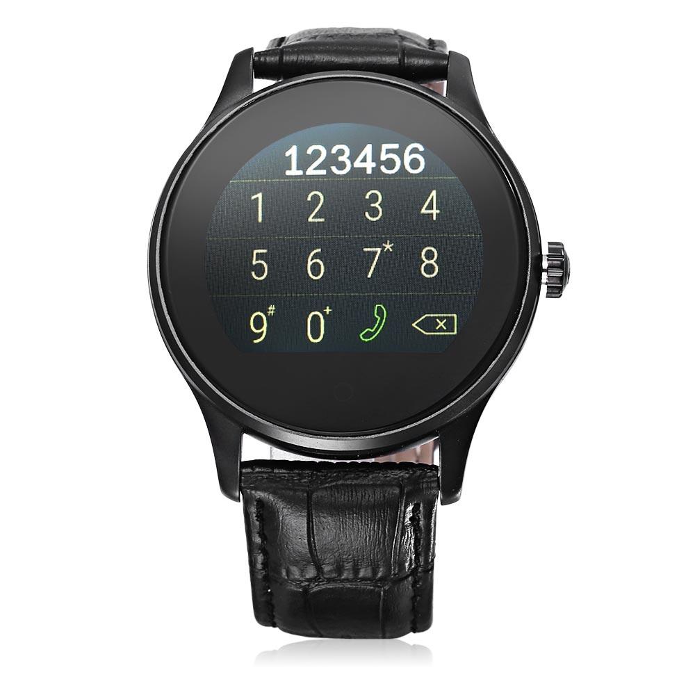 K88h Bluetooth 40 Smart Watch Hear End 11 16 2020 343 Pm Speaker Leather Black Perak Heart Rate Monitor