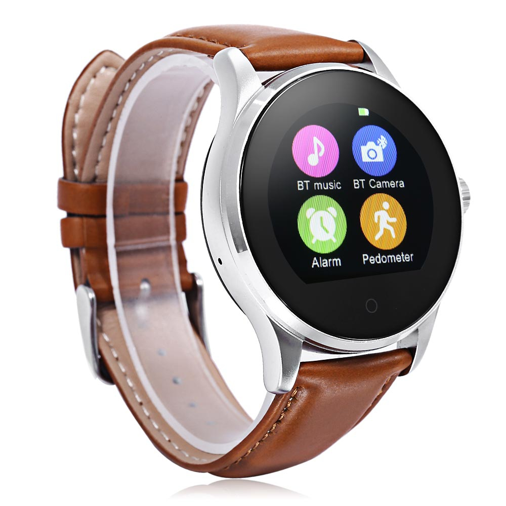 watch wearable orange bluetooth waterproof device sports smart watches