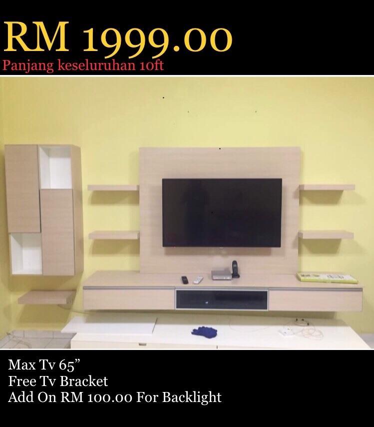 Kabinet Tv Murah Rm1999 Siap Pasang Harga Kilang Sangat Berbaloi Beli