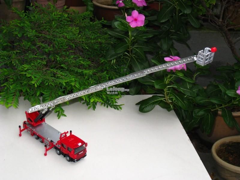 Kaidiwei 1/50 Ladder Fire Engine Fire Rescue Vehicles (625012)