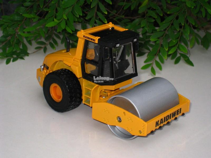 Kaidiwei 1/50 Single Drum Roller Construction Vehicle (620018)