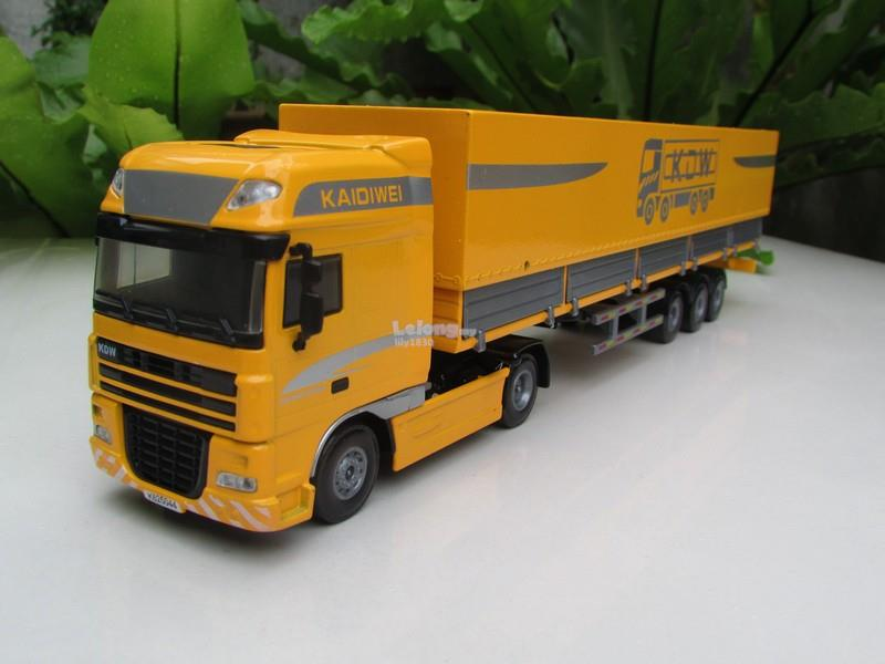 Kaidiwei 1/50 Tent Platform Transporter Truck/Container (625044)