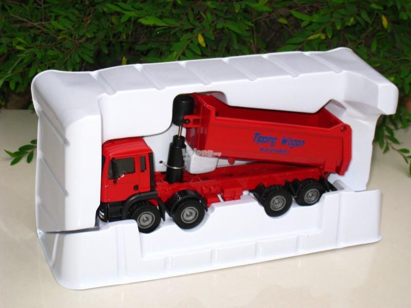 Kaidiwei 1/50 Tipping Truck Diecast Construction Vehicle (625006-R)