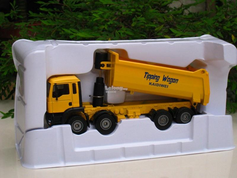 Kaidiwei 1/50 Tipping Truck Diecast Construction Vehicle (625006-Y)