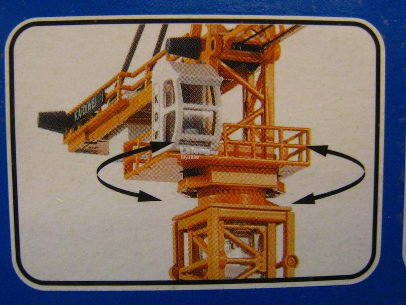 Kaidiwei 1/50 Tower Slewing Crane Construction Vehicle (625017)