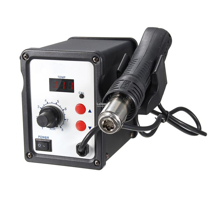 KAISI 858D Digital Display 220V 700W Soldering Station Rework Iron Des