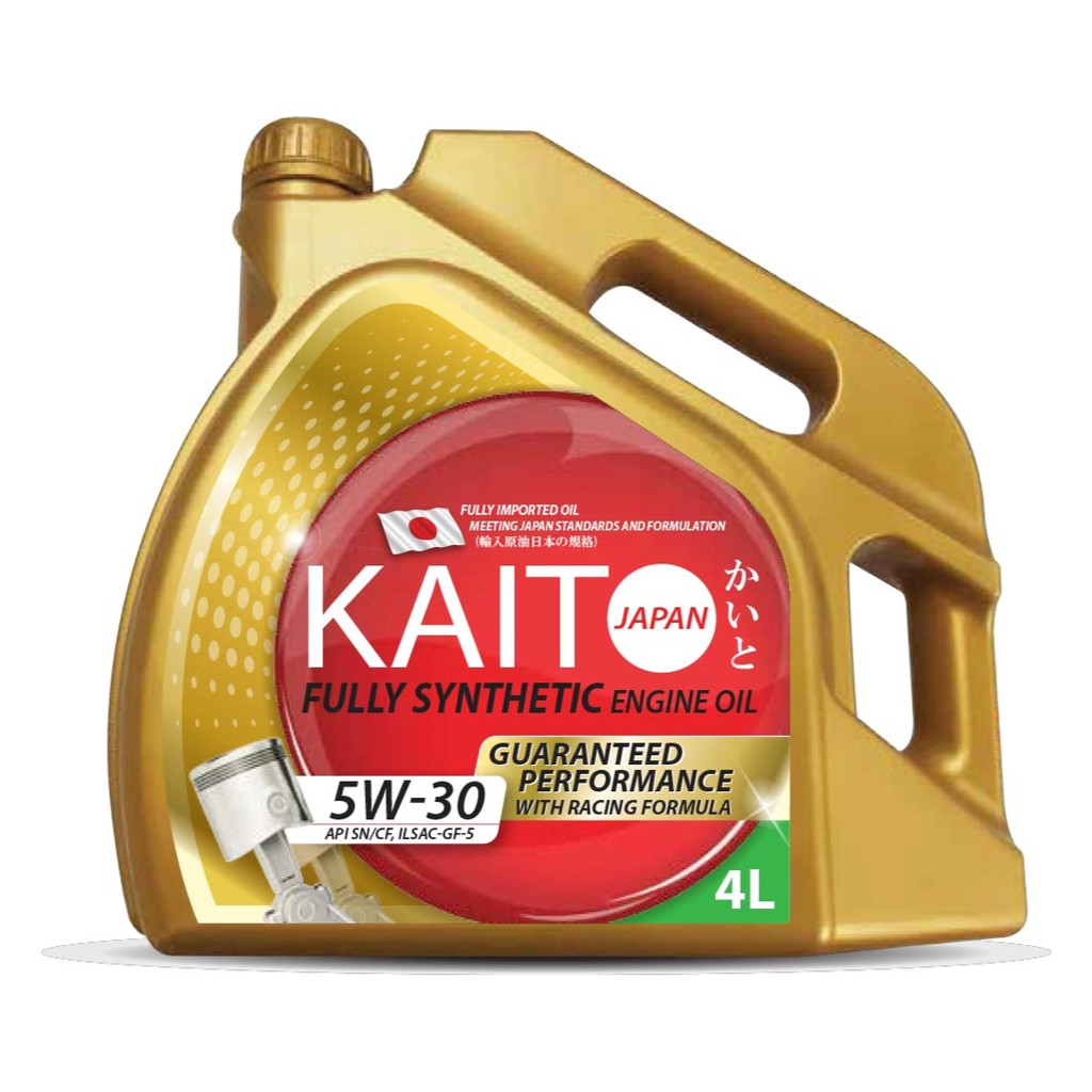 Kaito Japan 5W30 SN/CF Fully Synthetic Engine Oil - 4 Liters