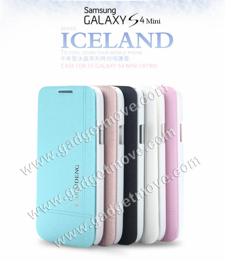 reputable site 53f57 31391 Kalaideng Iceland Samsung Galaxy S4 Mini Mega 6.3 Leather Case