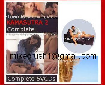 KAMASUTRA # 2 =The Total Best Lovemaking Guide Total , 5 HUGE VCDs!