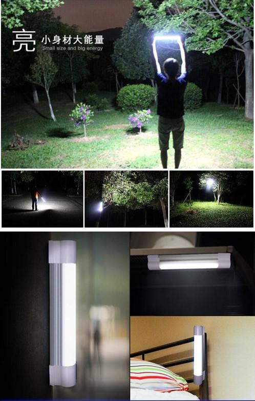 KAMISAFE KM-7658 KM-7659 KM-7660 LED Rechargeable USB Emergency Light