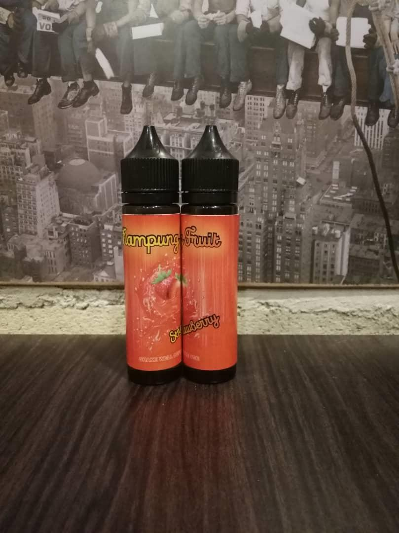 Kampung Fruit Strawberry (6MG @ 60ML)E Liquid Vape Juice