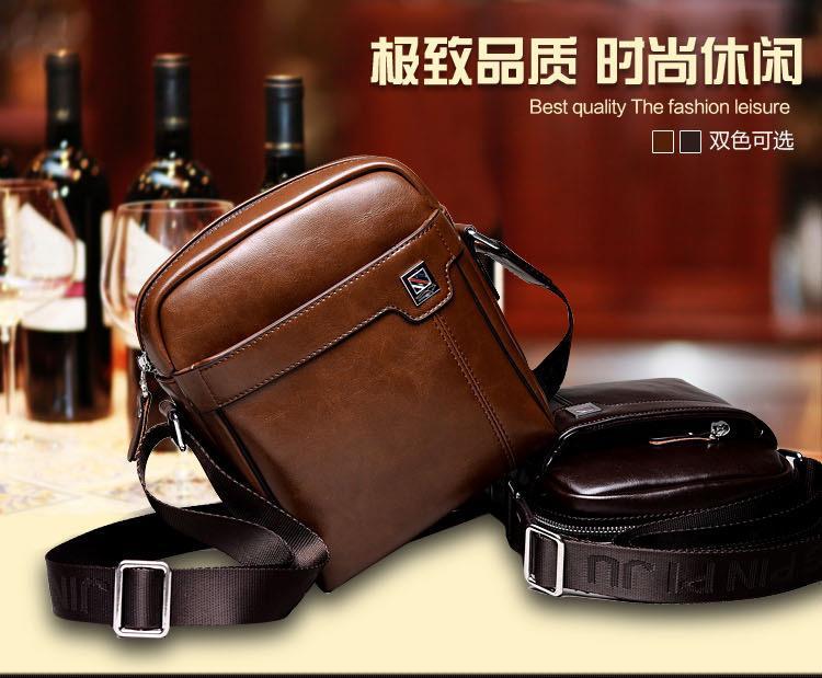 41c8c9de7c2d Kangaroo Premium Leather HALF Crossbody Bag Sling Bag Shoulder Bag Men. ‹ ›