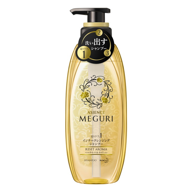 Kao ASIENCE MEGURI Shampoo pump RESET 300 ml