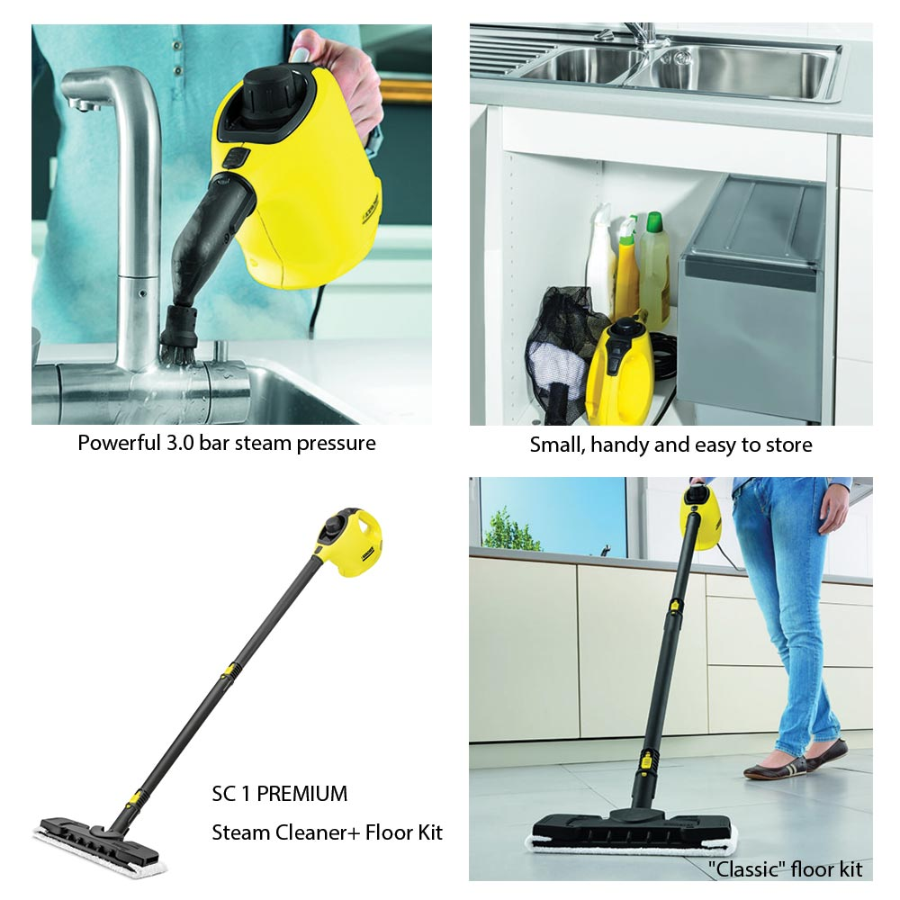 karcher sc1 premium steam cleaner end 11 18 2020 10 21 am. Black Bedroom Furniture Sets. Home Design Ideas