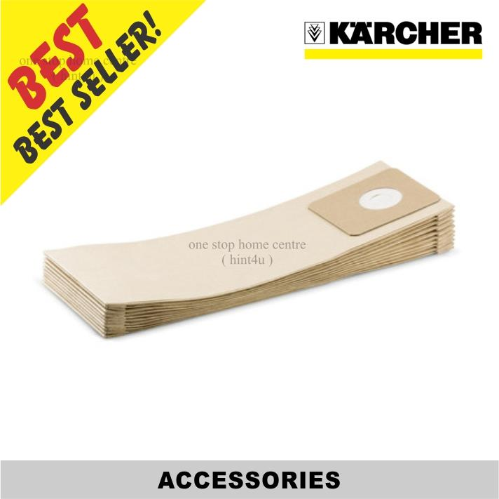 Karcher ( T8/1 CL - 9755 2520 ) Paper Filter Bags ( 10pcs )