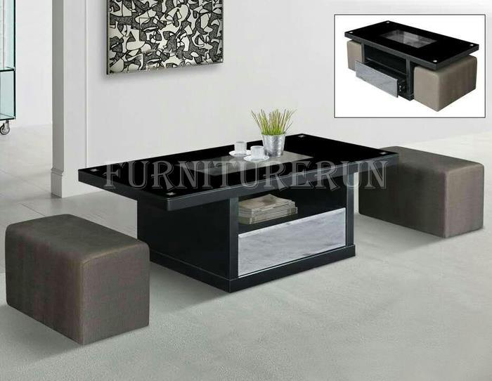Coffee Table With Stools.Karen Coffee Table With Stools