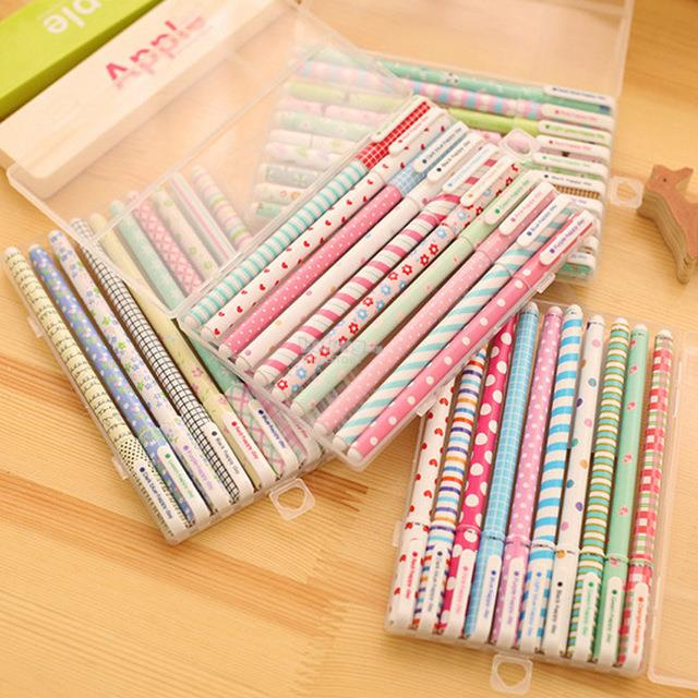 KAWAII CUTE COLORFUL 10 COLOR GEL PEN SET