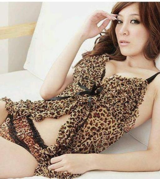 Kawaii Leopard-style Sexy suit + panties